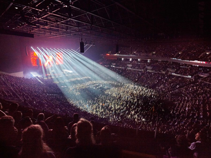 CODA Audio Pushes Pedal to the Metal as Denmark's Finest Rock Copenhagen Royal Arena