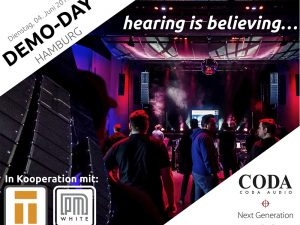 Coda CODA AUDIO Demo Day Hamburg