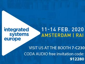 Coda Integrated Systems Europe 2020