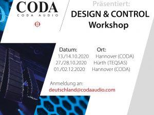 Coda CODA AUDIO – Design & Control Workshop Hannover (in German language)