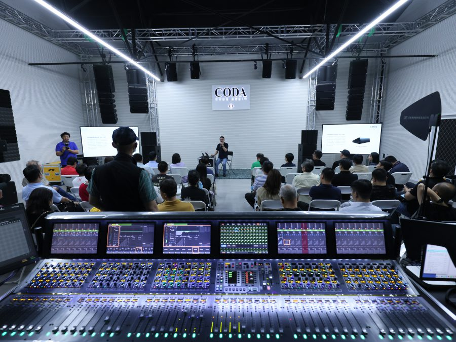 Tongbo Opens CODA Audio Facility In Beijing
